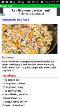 Dog Food apk screenshot