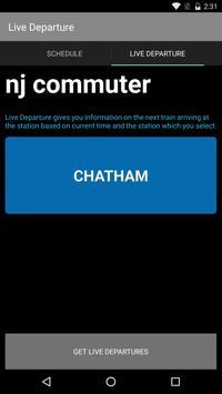 NJ Commuter screenshot 1