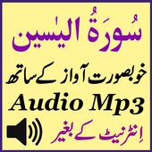 Recite Sura Yaseen Audio Mp3 icon