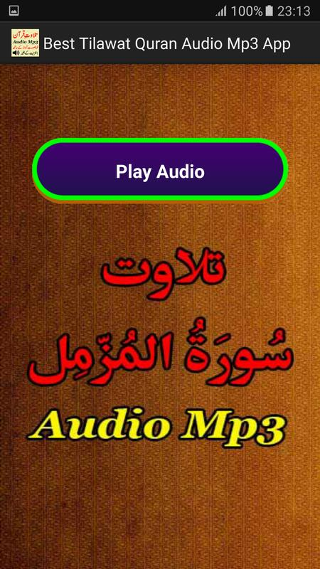 Best tilawat quran mp3 free download
