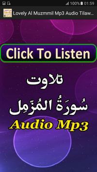 Lovely Al Muzammil Mp3 Audio poster