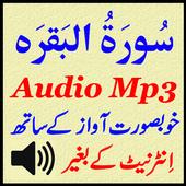 Sura Baqarah For Mp3 Audio App icon