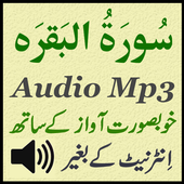 Surah Baqarah For Mobile App icon