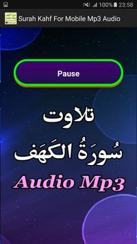 Surah Kahf For Mobile Mp3 App screenshot 2