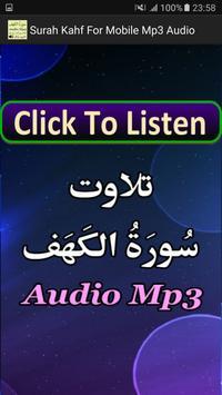 Surah Kahf For Mobile Mp3 App screenshot 3