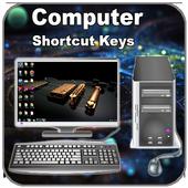 Computer Shortcut key icon