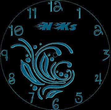 NKs Live Wallpaper Clock screenshot 1