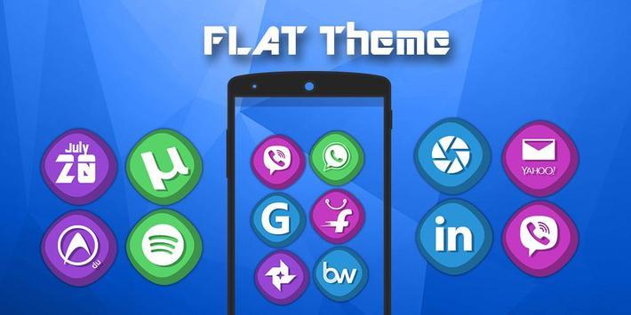 Flat - Solo Theme poster