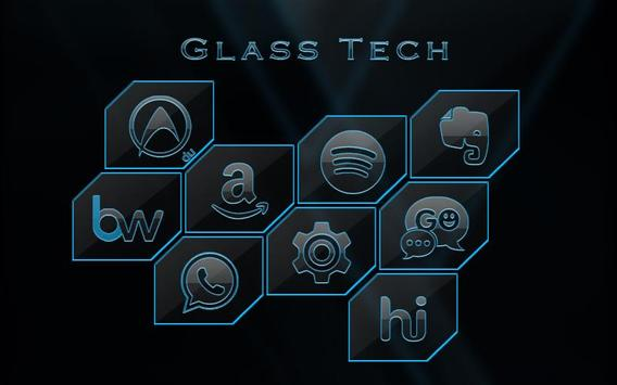 Glass Tech - Solo Theme apk screenshot