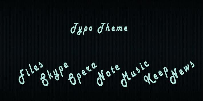 Typo - Solo Theme poster