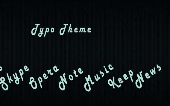 Typo - Solo Theme apk screenshot