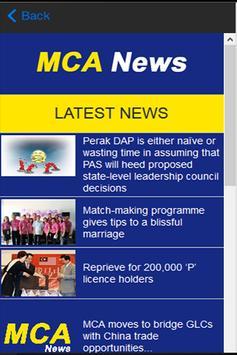 MCA News apk screenshot