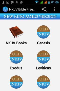 NKJV Bible Free App poster