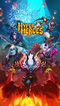 Hyper Heroes Cartaz