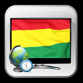 Time show TV guide Bolivia icon