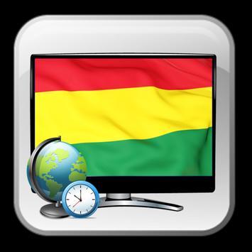 Time show TV guide Bolivia poster