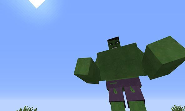 Mod Green Monster Hero apk screenshot