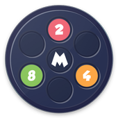Circle 2048 icon