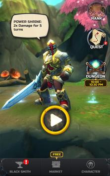 Tap Tap Warriors: Nonstop Jump RPG apk screenshot