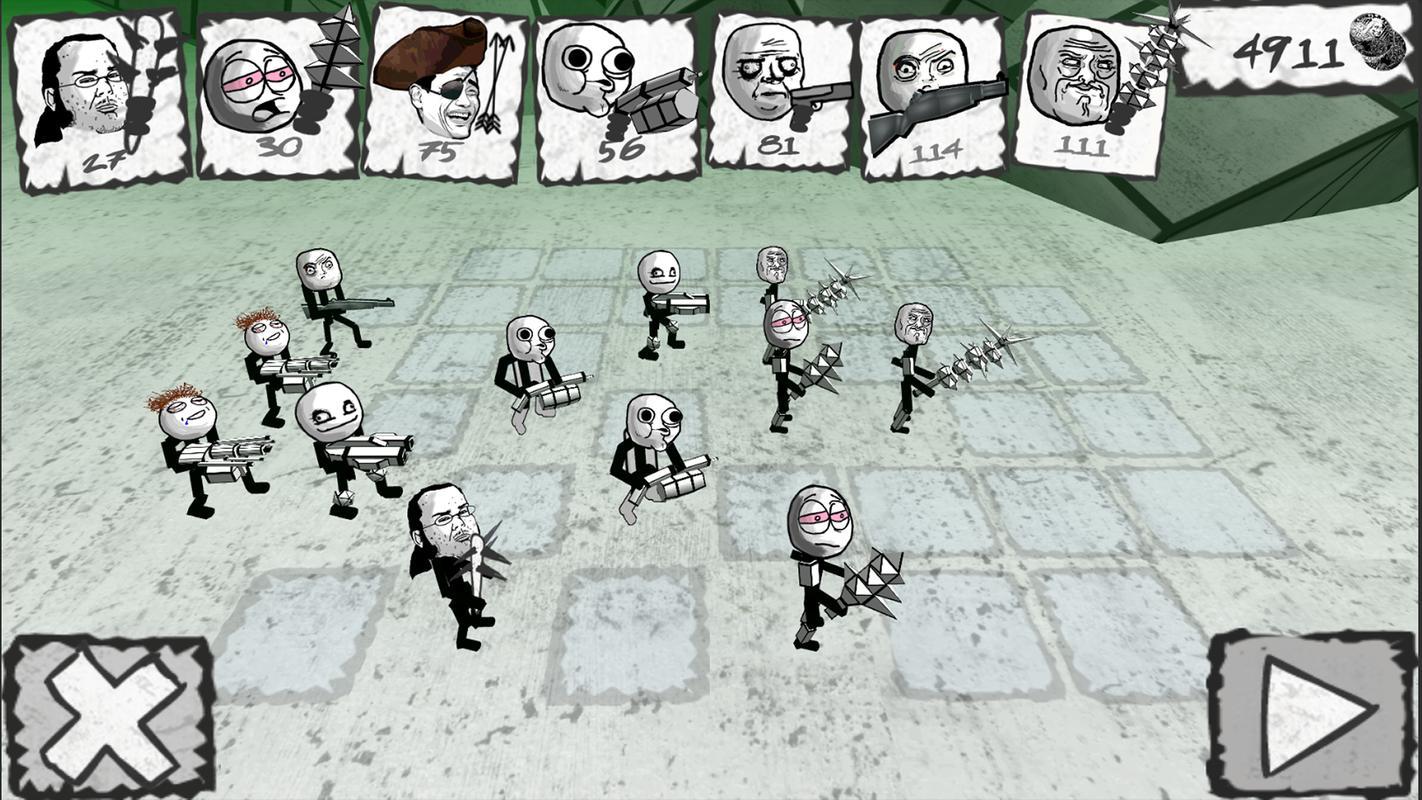 Zombie meme battle simulator plakat