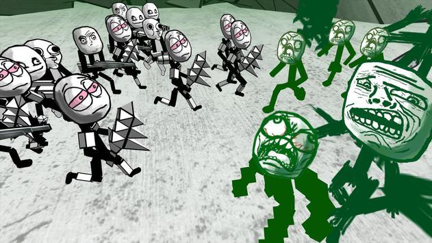 Zombie Meme Battle Simulator screenshot 12