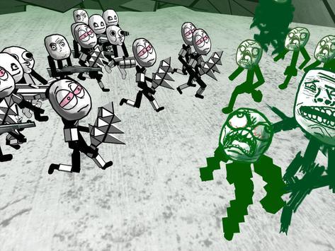 Zombie Meme Battle Simulator screenshot 7