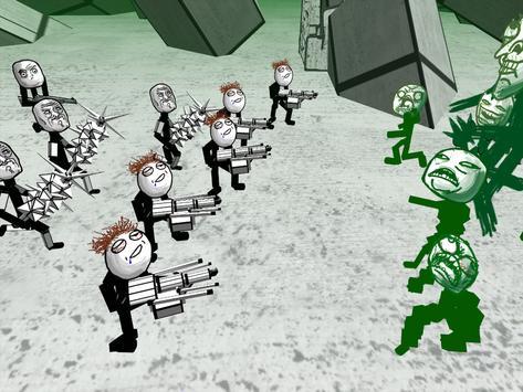 Zombie Meme Battle Simulator screenshot 8