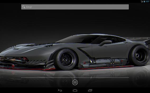 Futuristic Cars Live Wallpaper Apk Screenshot