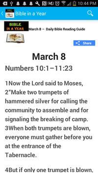 Read Bible in a Year- NLT screenshot 3