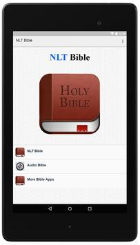 NLT Bible Offline poster