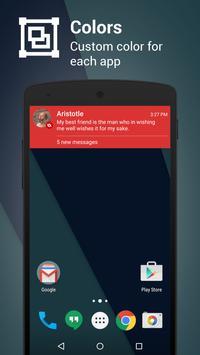 Metro Notifications Free apk screenshot