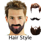 Hair Mustache Style Changer icon