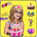 APK Birthday Cake Name Montage