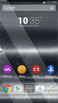 Theme Metal one for Xperia poster