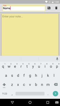 MyNotes apk screenshot