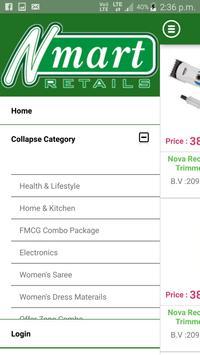 Nmart Retails Shopping apk screenshot