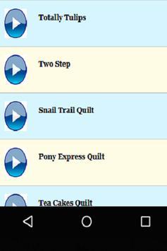 Quilt Tutorials screenshot 1