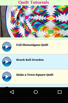 Quilt Tutorials screenshot 4
