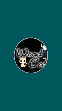 Wood Cat Prsy poster