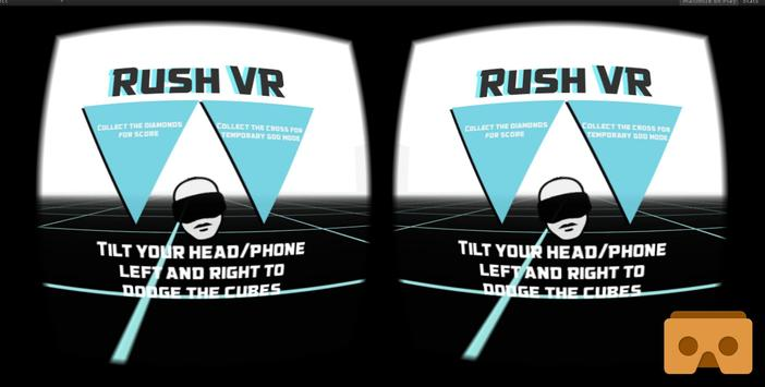 Rush VR for Cardboard poster