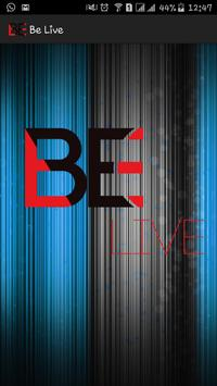 Be Live poster