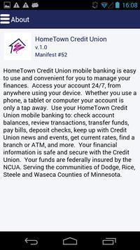 HomeTown CU screenshot 3