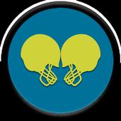 Rivalry Blue n Mustard Yellow icon