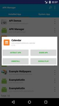 APK Manager screenshot 2