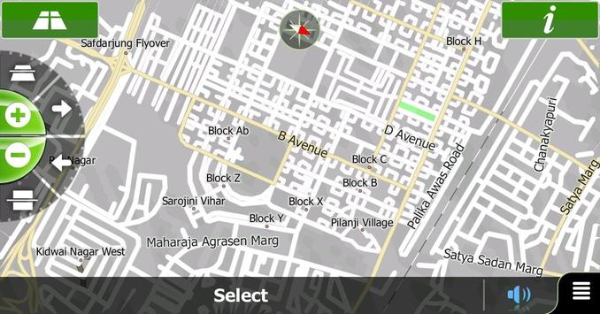 ANS MapViewer Android (SAF) screenshot 1