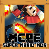 Mod Super Mario For MCPE icon
