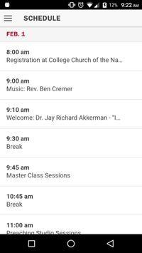Wesley Center Conference apk screenshot