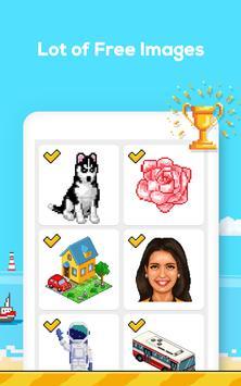 Número de jogo de colorir - No. Cor imagem de tela 9