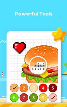 Número de jogo de colorir - No. Cor imagem de tela 12
