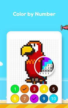 Número de jogo de colorir - No. Cor imagem de tela 18